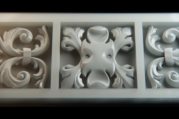 Модель для фрезеровки ракурс 01