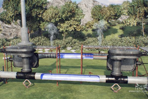 Ремонт газопровода откачка газа