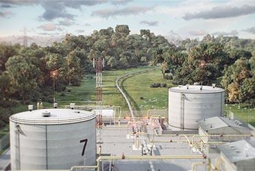 Анимация процесса ремонта газопровода для Cервисной Компании «ИНТРА»