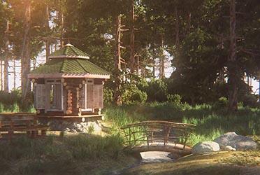 Поселок «Изумрудный» 3d Визуализация