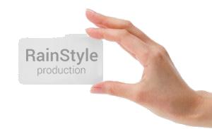 визитка RainStyle