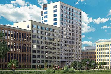 Визуализация жилого комплекса «Суходольская»