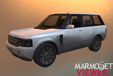 Range Rover 3d модель