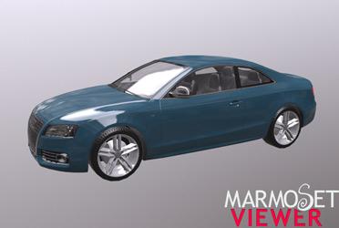 PBR-модель Audi S5