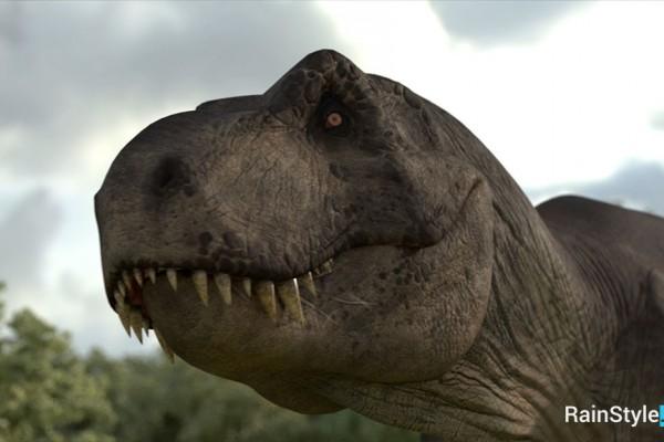 Модель динозавра T-rex