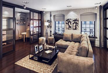 Классический интерьер городской квартиры